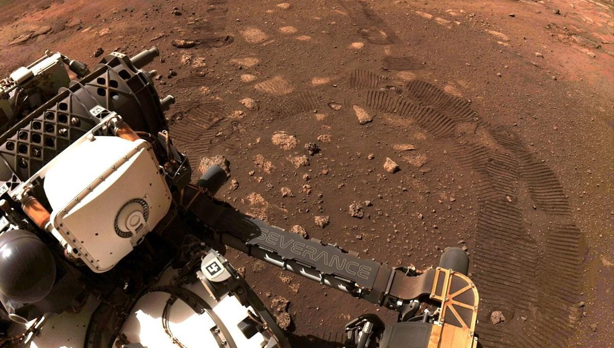 NASA'nın Mars kaşifi Perseverance: İlk adımlarını attı