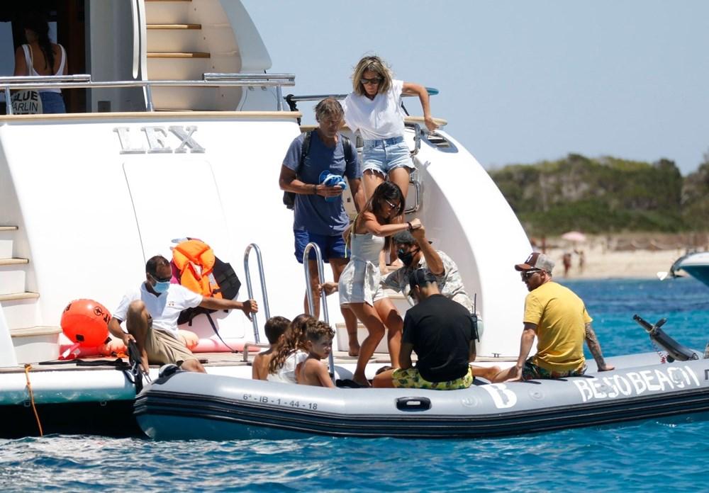 Lionel Messi'nin Ibiza'daki romantik tatili - 14