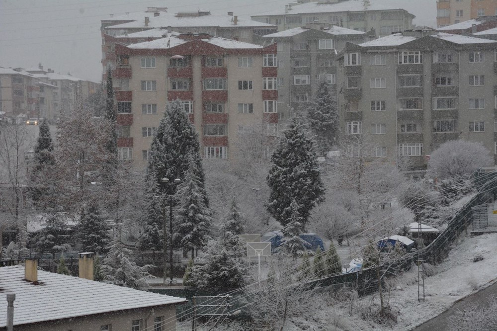 Yurtta kar yağışı (İzmir'in yüksek kesimlerinde kar yağışı etkili oluyor) - 14