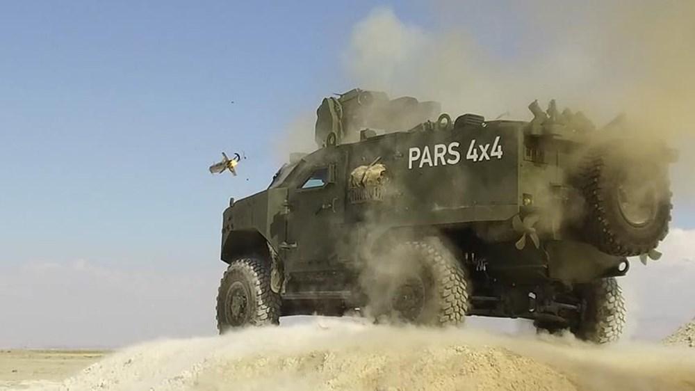 Dijital birliğin robot askeri Barkan göreve hazırlanıyor (Türkiye'nin yeni nesil yerli silahları) - 265