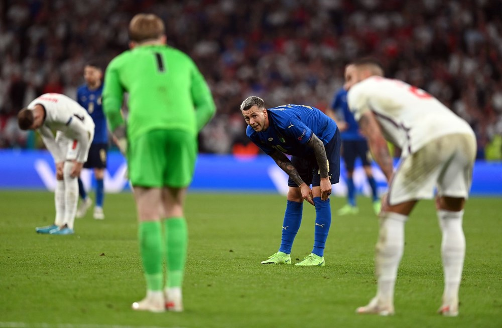 EURO 2020'de şampiyon İtalya - 9