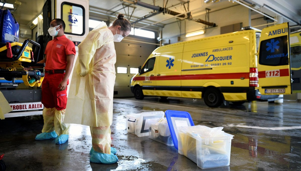 Belçika Covid-19 hastalarını gerekirse Almanya'ya gönderecek