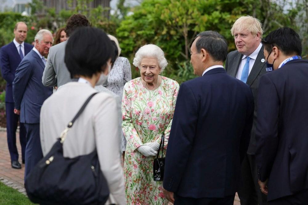 G7 ülkelerinin liderleri İngiltere'de buluştu - 4