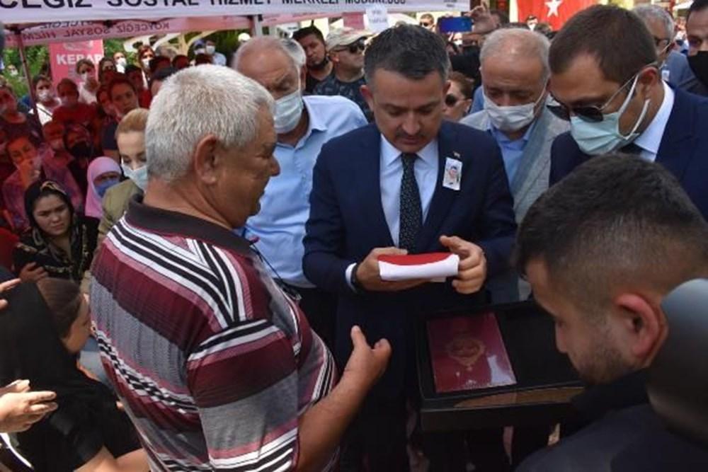 Muğla'da 'orman şehidi' törenle son yolculuğuna uğurlandı - 24