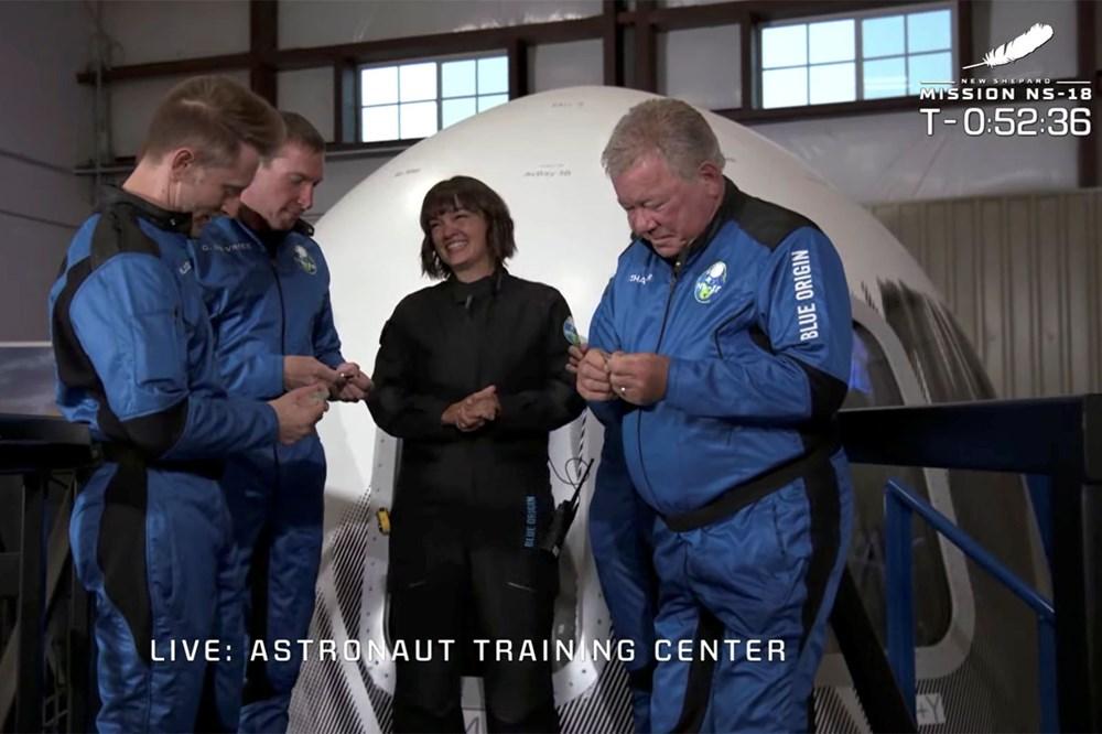 Star Trek'in Kaptan Kirk'ü William Shatner'in uzay yolculuğu - 1