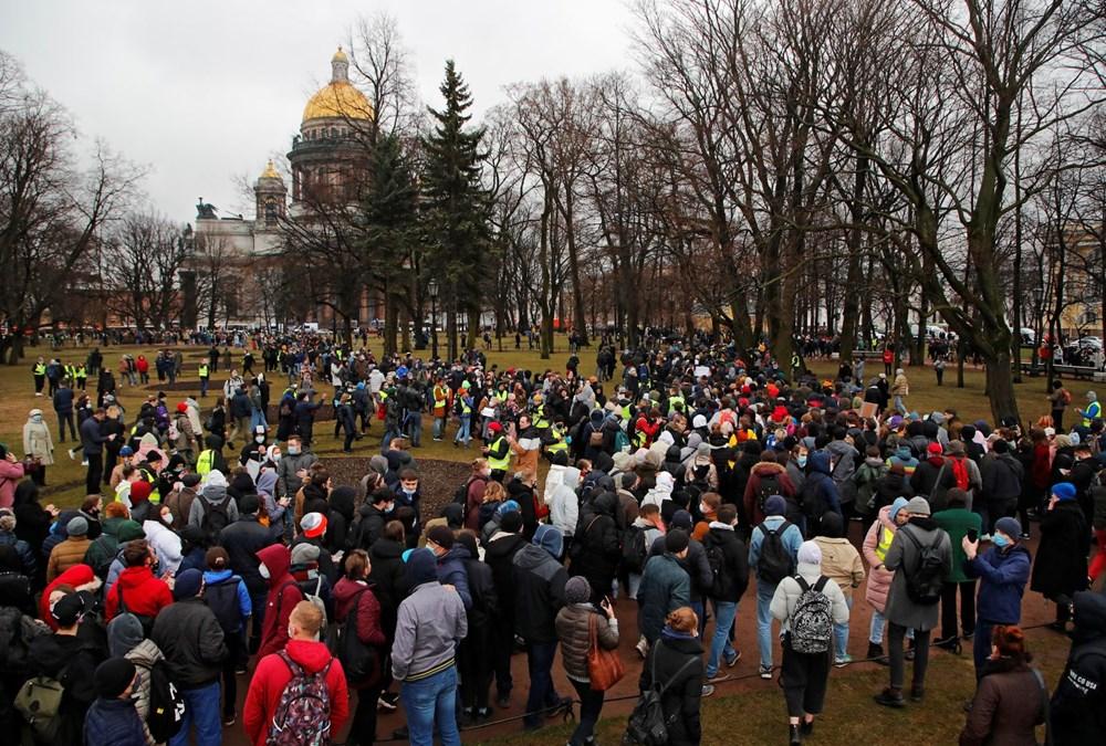Rusya'da Navalny protestoları: Bin 700'den fazla kişi gözaltına alındı - 3