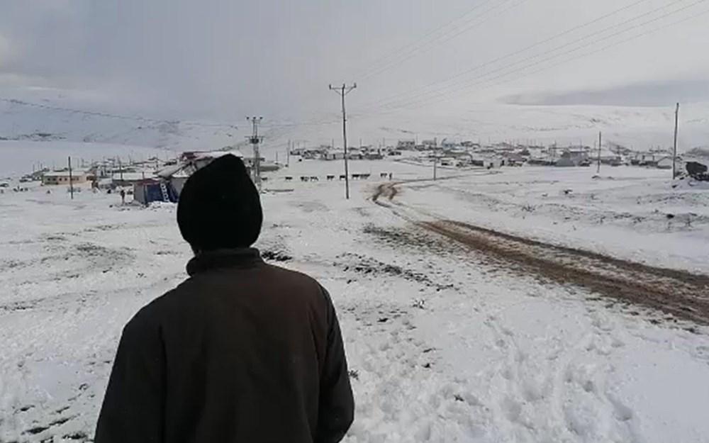 Kar etkili oldu: Yaylacıların dönüş hazırlıkları erken başladı - 8