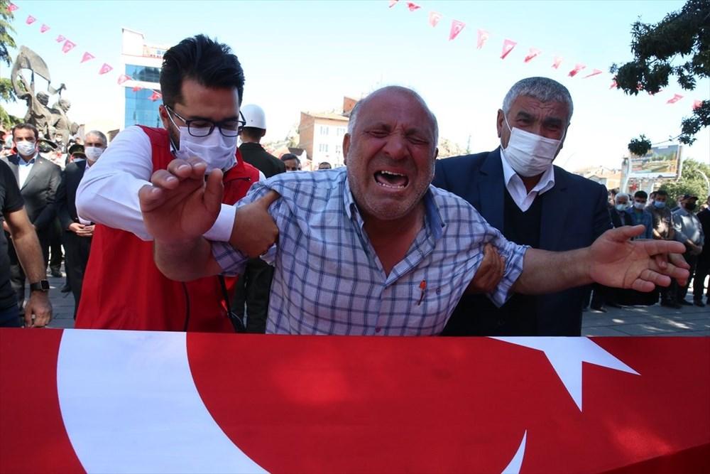 Martir Muammer Yiğit mengucapkan selamat tinggal pada perjalanan terakhirnya di Tokat - 5