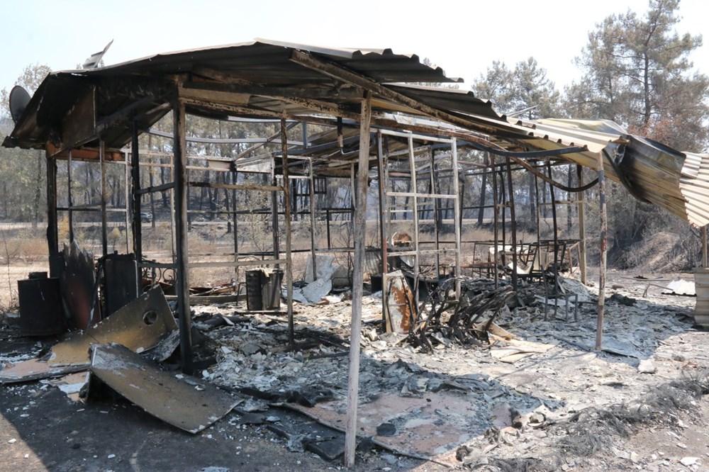 Manavgat'ta safari tesisi küle döndü, alevlerin arasında kalan işletme sahibi ölümden döndü - 2