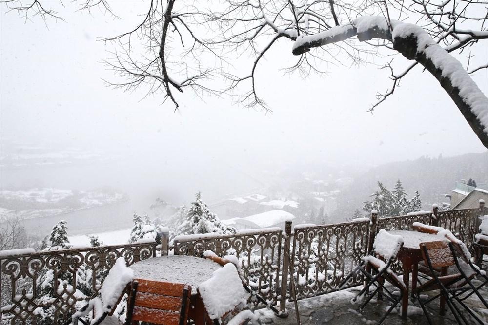 İstanbul'da kar yağışı devam ediyor - 21