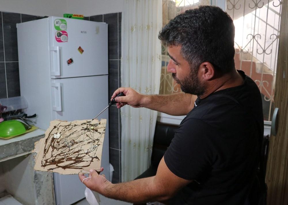 Adana'da bir mahalleyi böcekler istila etti - 6