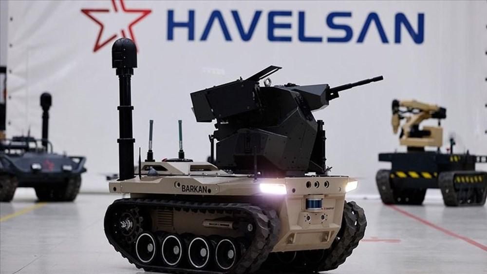 Dijital birliğin robot askeri Barkan göreve hazırlanıyor (Türkiye'nin yeni nesil yerli silahları) - 2