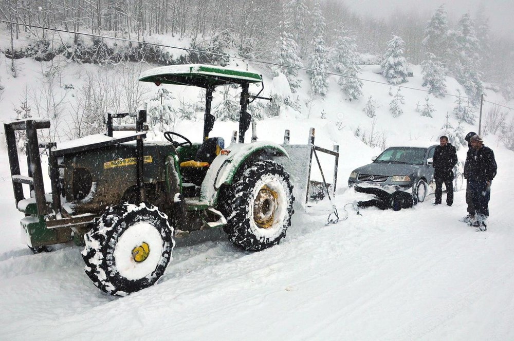 Karda nasıl araç kullanılır? - 16