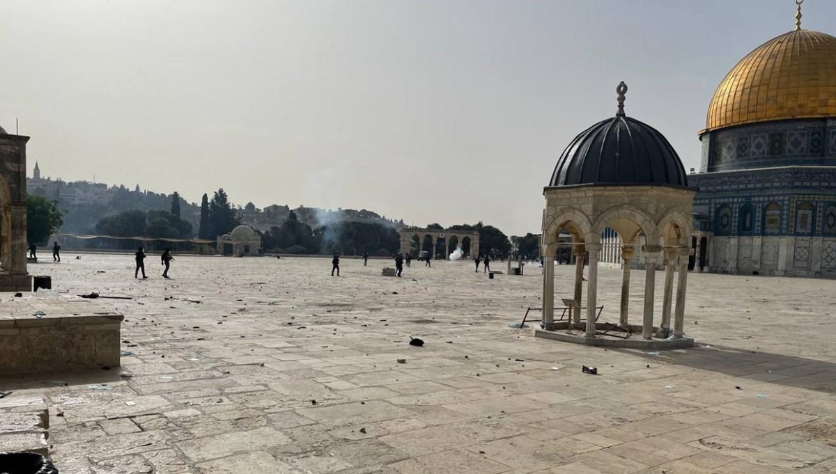 Filistin'den Mescid-i Aksa açıklaması: İslam dünyasına yardım çağrısı
