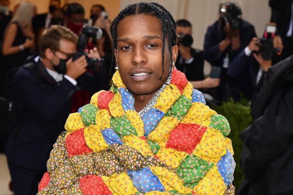 A$AP Rocky'nin Met Gala'daki yorganının sırrı ortaya çıktı - 2
