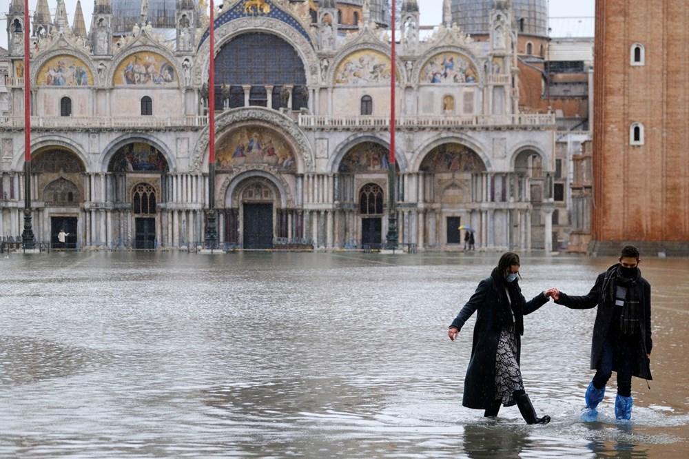 Venedik'te yine su baskını: Milyar dolarlık proje işe yaramadı - 2