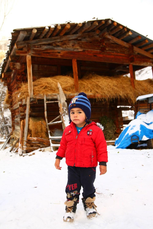 Artvin'deki 2 bin rakımlı Maden Köyü'nde kışı böyle geçiriyorlar - 14