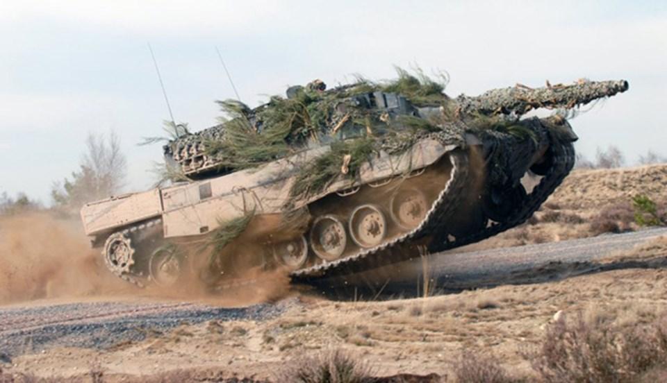 Almanların silah ihracatındaki en önemli silahlarından biri Leopard tankları.
