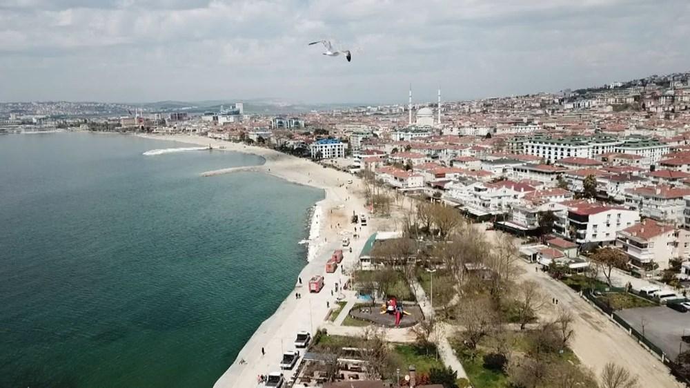 İstanbul'da 'tsunamiden kaçış' tabelaları - 3