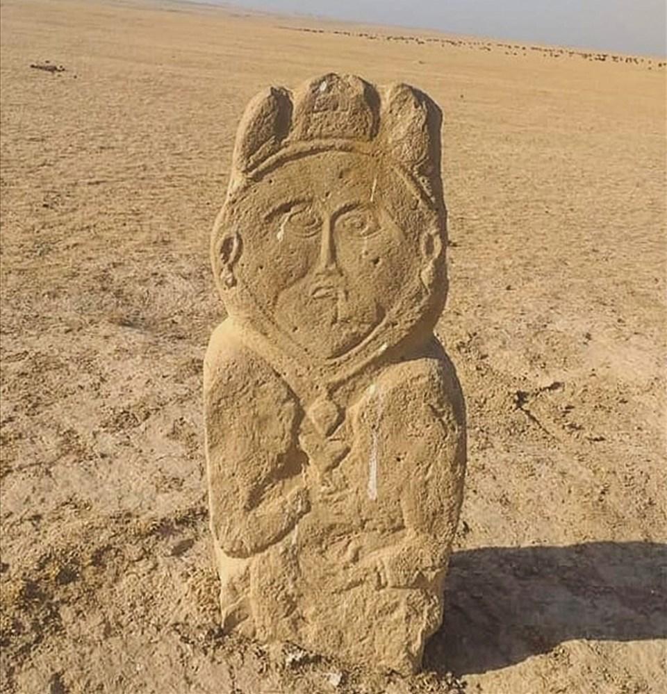 Heykelin, üniversitenin Arkeoloji Araştırma Enstitüsü uzmanları tarafından incelendiğini aktaran Koca, araştırmanın sonuçlarını yakın zamanda yayınlayacaklarını da sözlerine ekledi.