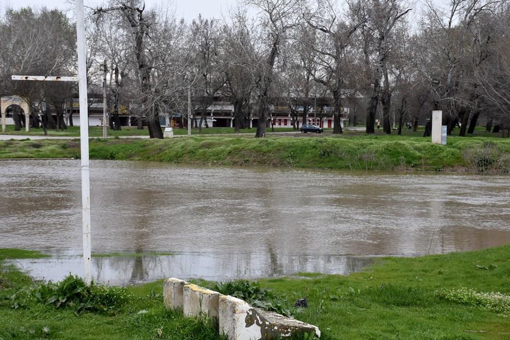 Tunca Nehri bir haftada 4 kat arttı: Sarı alarm verildi - 2