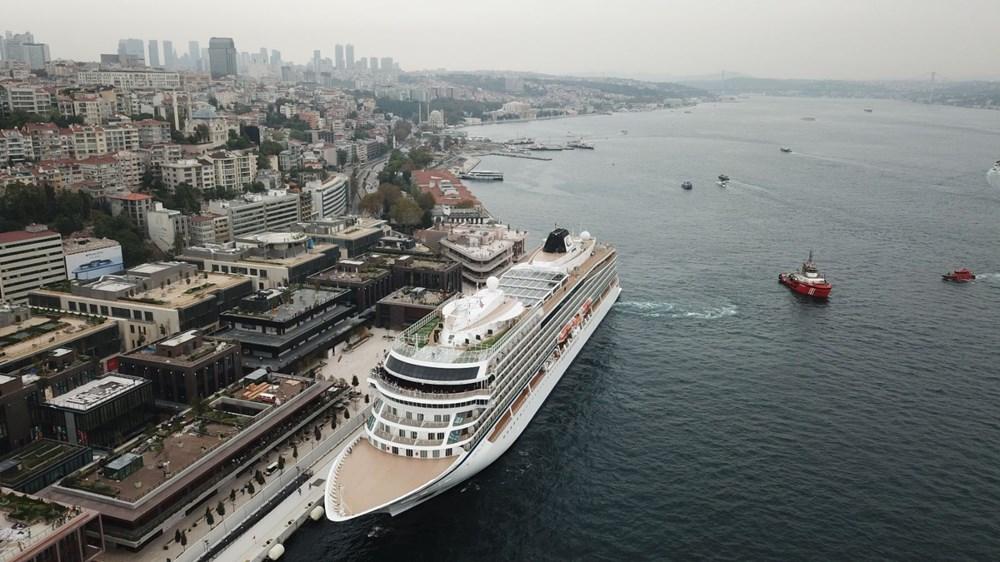 Galataport İstanbul'a ikinci yolcu gemisi demir attı - 15
