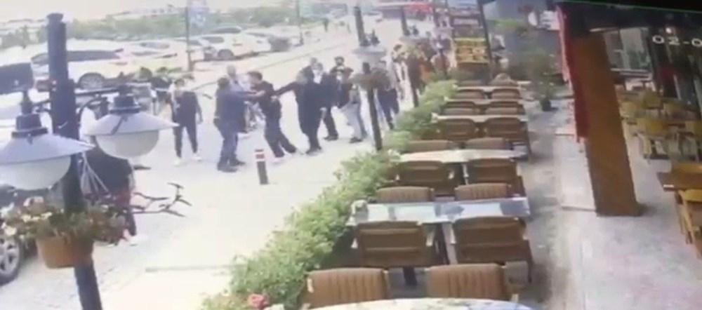 İstanbul'da eşini döven adama meydan dayağı - 4