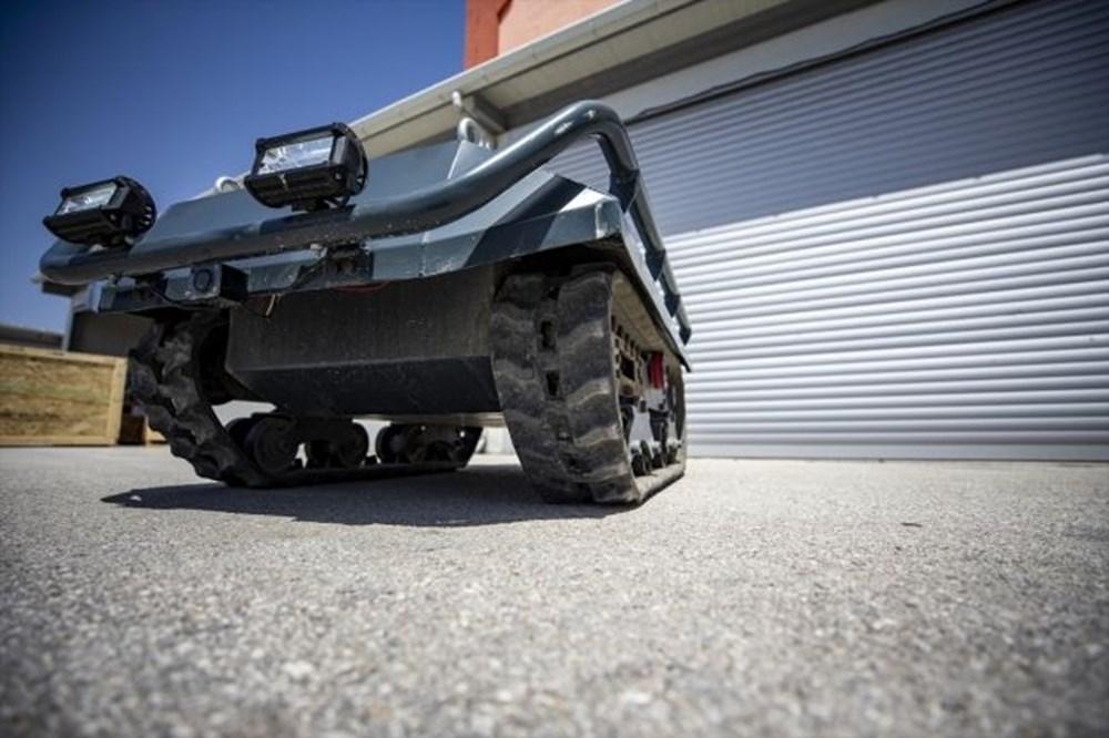 Dijital birliğin robot askeri Barkan göreve hazırlanıyor (Türkiye'nin yeni nesil yerli silahları) - 48