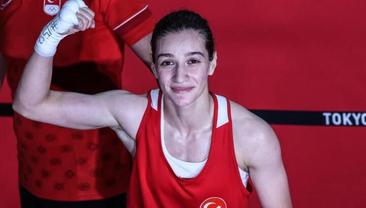 Buse Naz Çakıroğlu olimpiyat madalyasını garantiledi