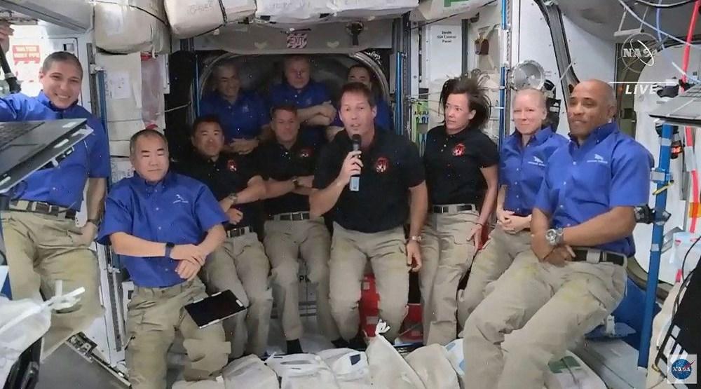 Uzay on yılın en kalabalık günlerini yaşıyor: SpaceX ile birlikte 11 astronot oldu - 8