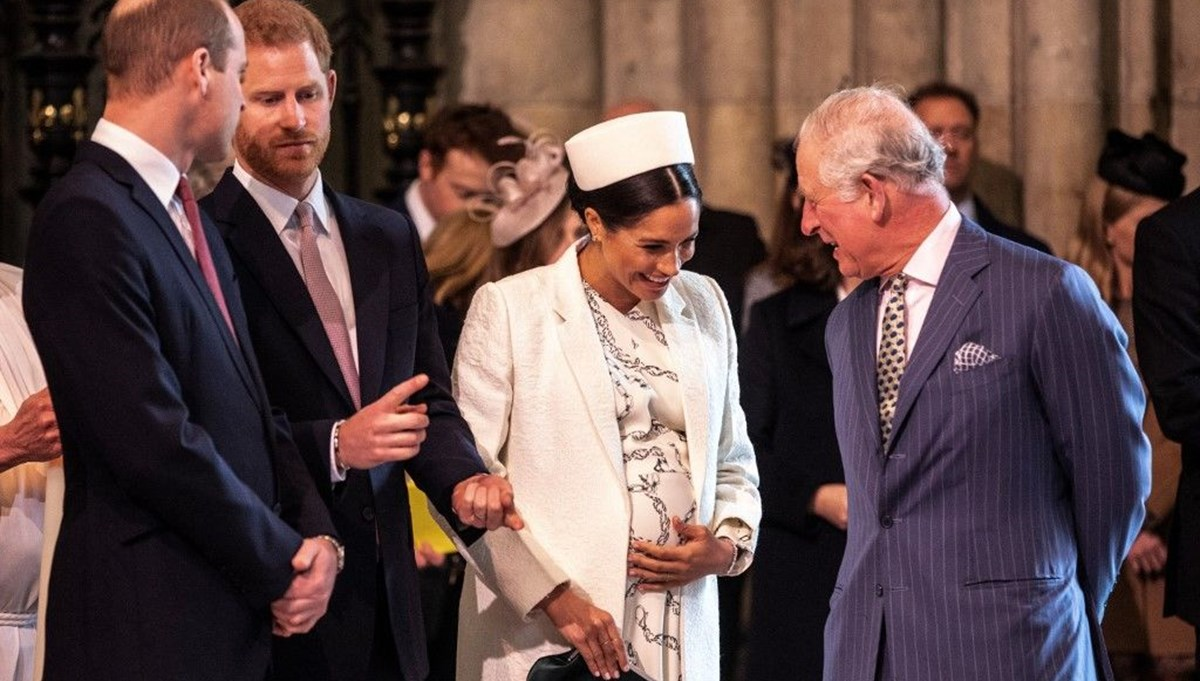 Prens Charles'ın planına göre Meghan Markle ve Prens Harry'nin oğlu Archie prens olamayacak