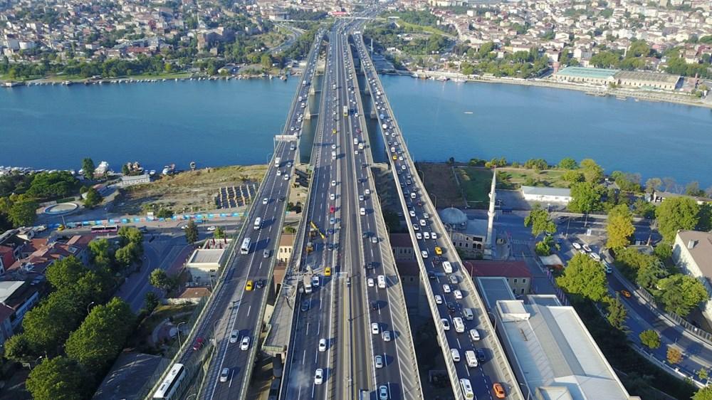 Haliç Köprüsü'ndeki 2'inci etap çalışmaları devam ediyor - 14