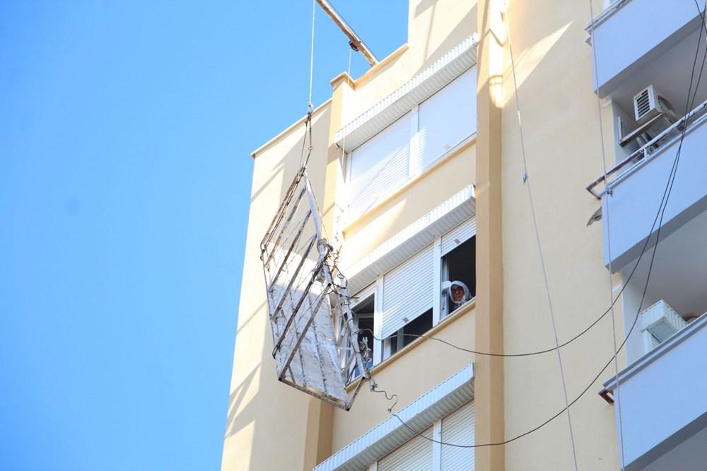 8'inci katta ölümle burun buruna - 6