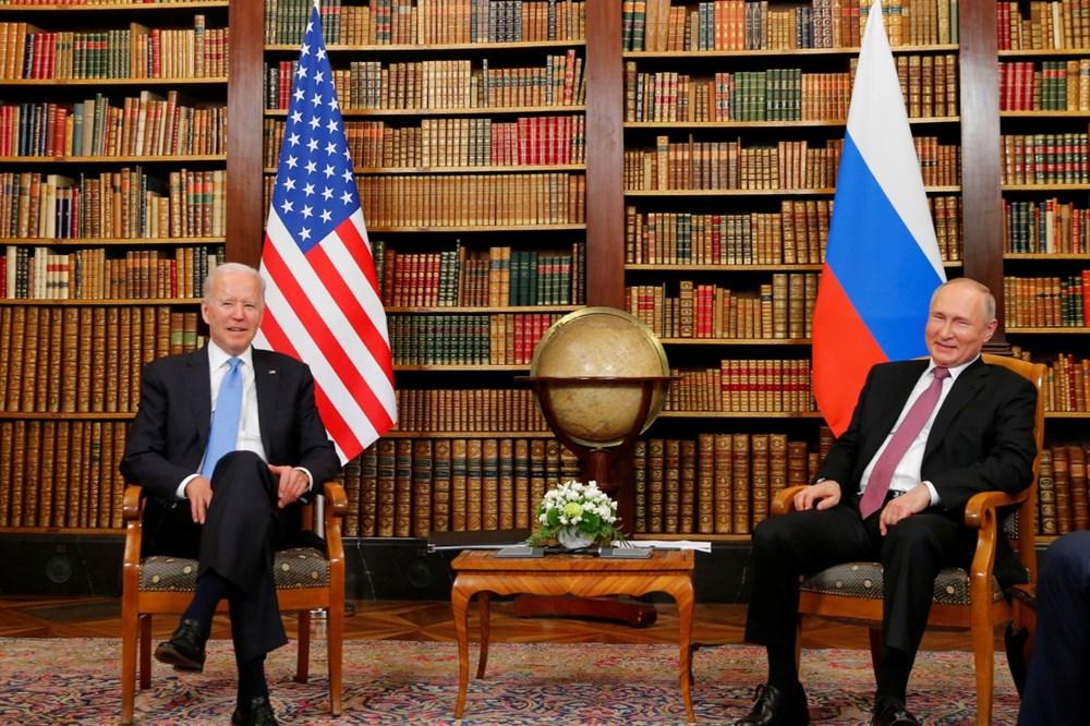 ABD Başkanı Biden ve Rus Devlet Başkanı Putin'in görüşmesi başladı: Zirveden kareler - 4