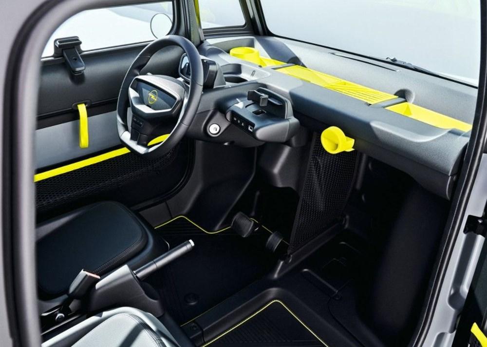 Opel'den elektrikli şehir aracı: Rocks-e - 4