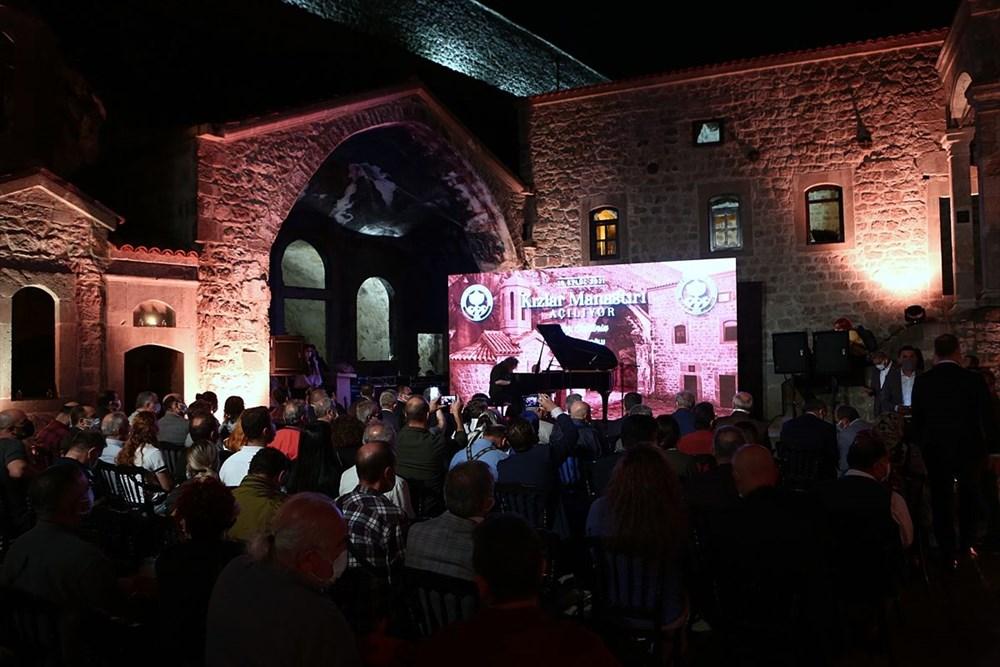 Trabzon'da restorasyonu tamamlanan Kızlar Manastırı ziyarete açıldı - 14