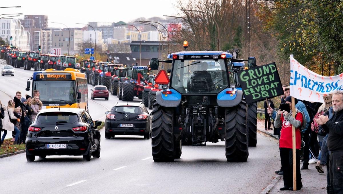 Danimarka'da vizon tartışması büyüyor: Çiftçiler sokakta