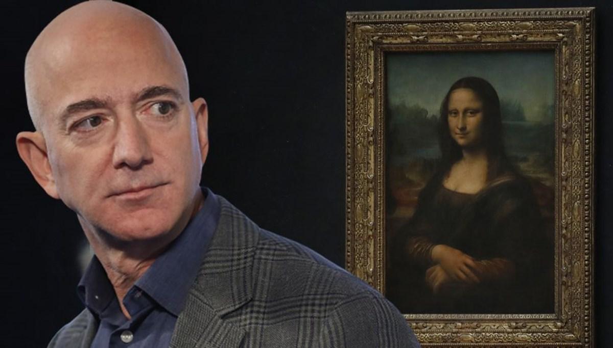 Jeff Bezos'un Mona Lisa'yı yemesi için kampanya