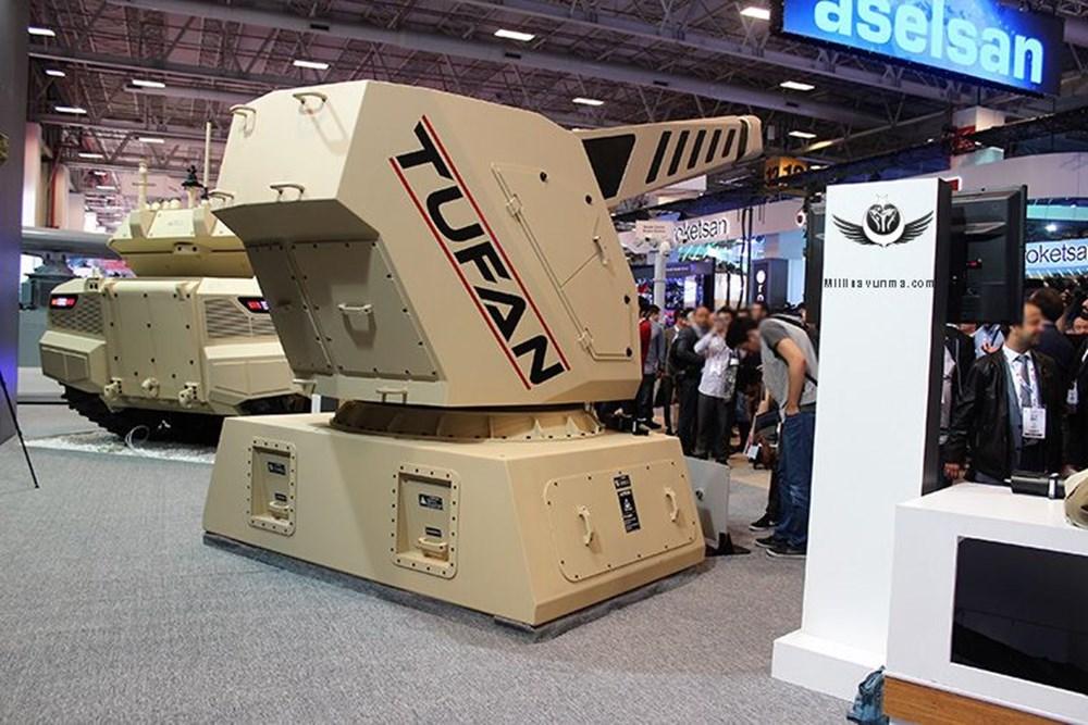 Dijital birliğin robot askeri Barkan göreve hazırlanıyor (Türkiye'nin yeni nesil yerli silahları) - 249