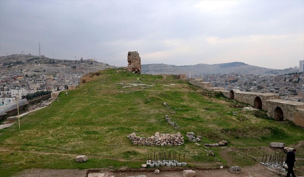 Urfa'nın tarihi kalesi gün yüzüne çıkarılıyor - 3