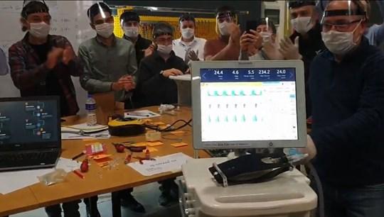 Selçuk Bayraktar yerli solunum cihazının ilk prototipini paylaştı