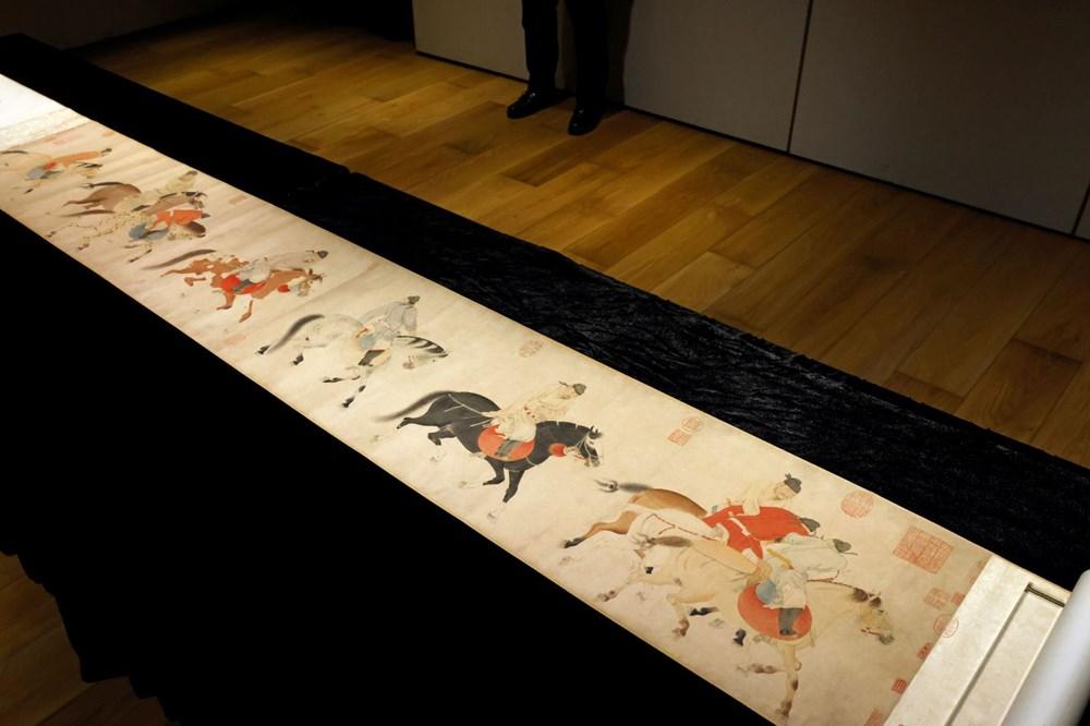 Hong Kong'da 700 yıllık resimli parşömen 41,8 milyon dolara satıldı - 3