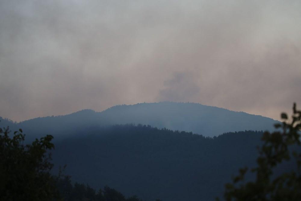Mersin ve Hatay'da orman yangınları devam ediyor - 2