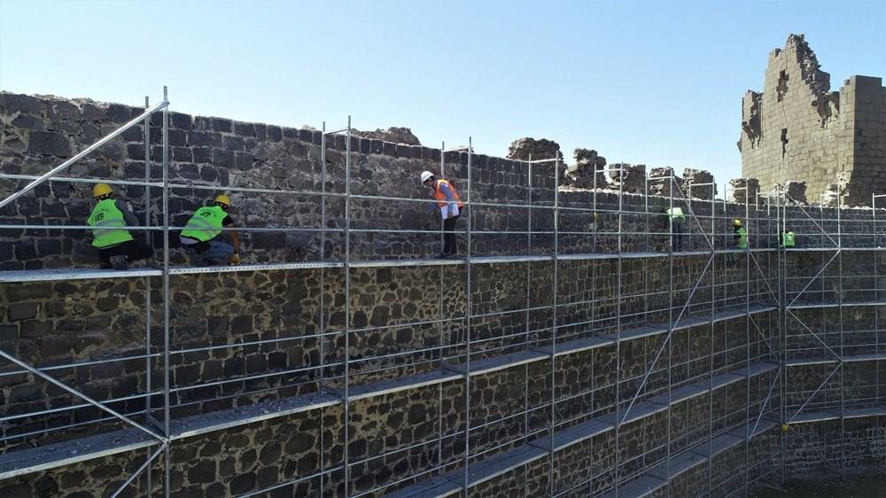 UNESCO mirası Diyarbakır Surları'nda 500 günlük restorasyon başladı - 3