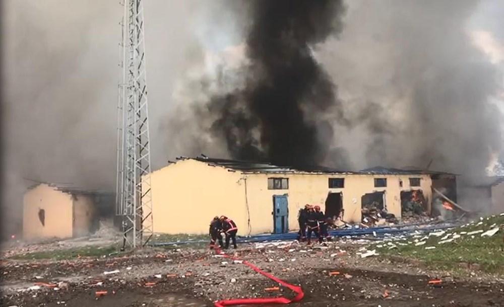 Sakarya'da havai fişek fabrikasındaki patlamadan fotoğraflar - 10