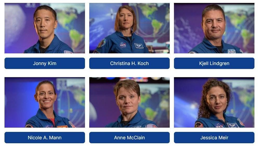 NASA, Ay'a gidecek 18 kişilik ekibi açıkladı - 4