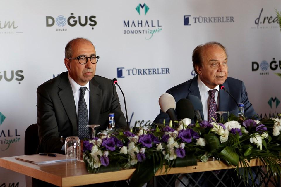 d.ream Yönetim Kurulu Başkanı Nevzat Öztangut-Türkerler Holding Genel Koordinatörü Prof. Dr. Attila Sezgin