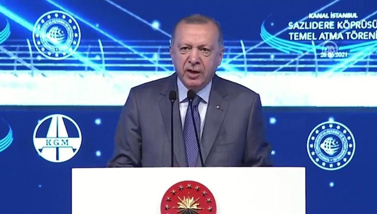 Cumhurbaşkanı Erdoğan: Bugün Türkiye'nin kalkınma tarihinde yeni bir sayfa açıyoruz