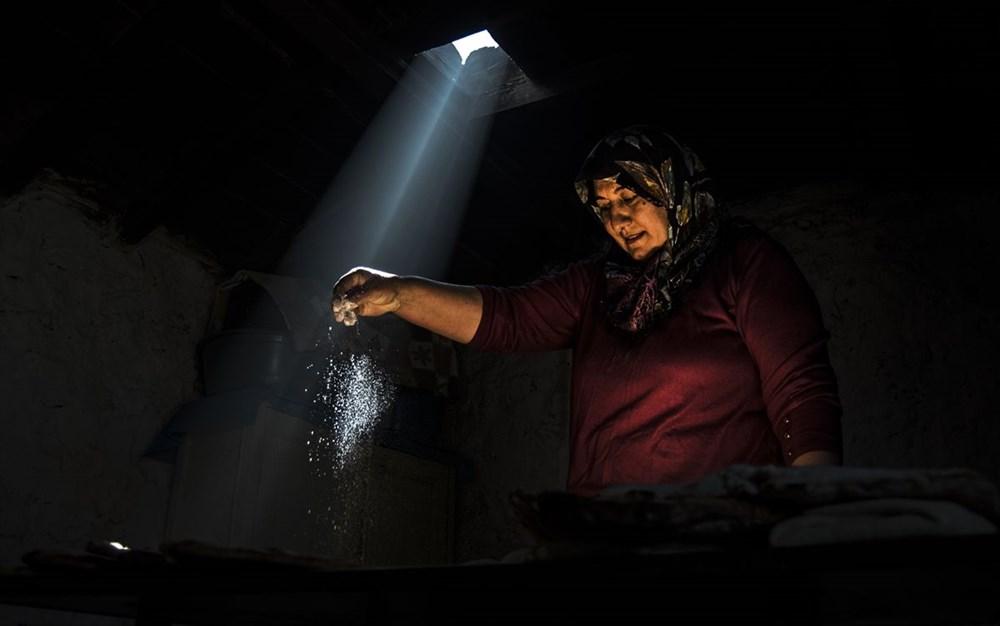 Karslı kadınlar ramazan ayında tandırları yöresel lezzetler için yaktı - 5