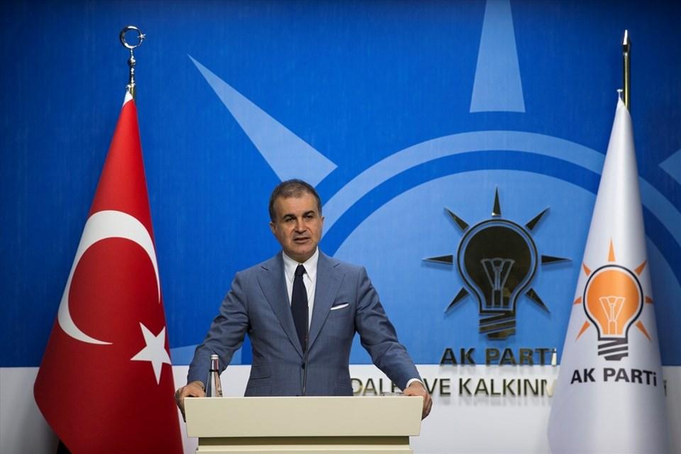 AK Parti sözcülüğüne Ömer Çelik getirildi.